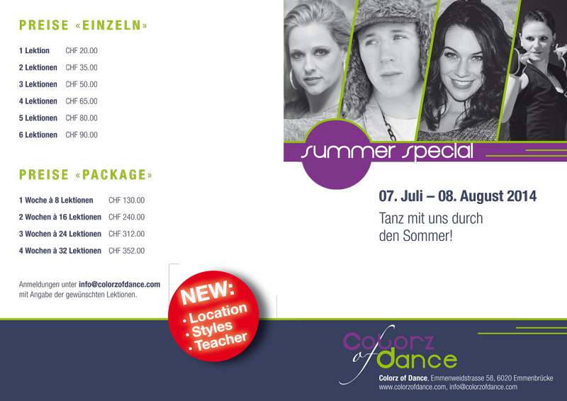 Colorz of Dance Summer Special